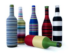 Decorative Bottles Stock Photo