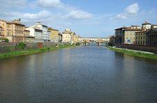 Arno River, Florence, Italy Stock Photo