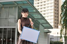 Free Asian Woman In The City Royalty Free Stock Photos - 10234578