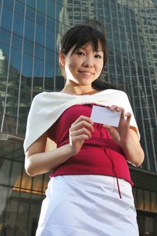 Free Asian Woman In The City Royalty Free Stock Photos - 10234758