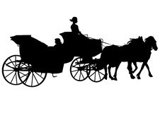 Free Carriage And Horses Royalty Free Stock Image - 10234996