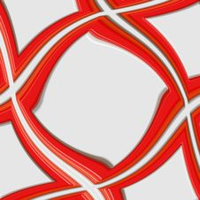 Free Swirling Red 3d Frame Stock Images - 10235324