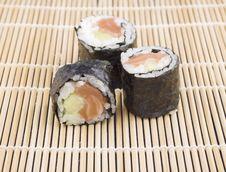 Free Maki Sushi Stock Image - 10236021