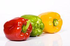 Free Colored Paprika Stock Photo - 10237180