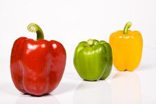 Free Colored Paprika Royalty Free Stock Image - 10237266