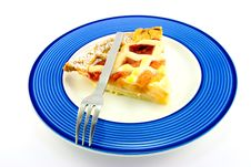 Free Slice Of Apple And Strawberry Pie Royalty Free Stock Photo - 10237745