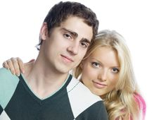 Free Lovers Royalty Free Stock Photography - 10238207