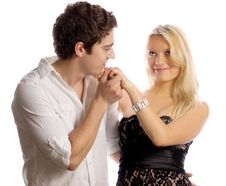 Free Lovers Royalty Free Stock Photos - 10238358