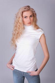 Free Sensual Glamorous Model Stock Images - 10238534