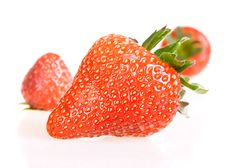 Free Strawberries Royalty Free Stock Photos - 10238898