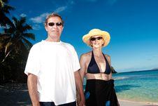 Free Happy Couple On Vacation Stock Photos - 10238953