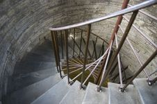 Free Pavilion Spiral Staircase Stock Image - 10239281