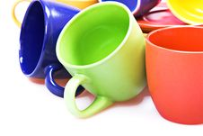 Free Color Cups Stock Photos - 10239513