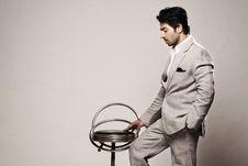 Free Businessman, Chair, Fashion, Formal Stock Photo - 102380560