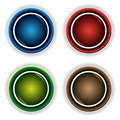 Free Colorful Buttons Royalty Free Stock Image - 10242066