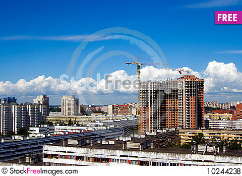 Free Above The Roof Royalty Free Stock Photos - 10244238