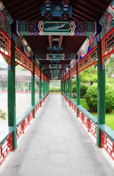 Free Long Corridor Stock Photography - 10241082