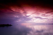 Free Sunset Scene Stock Image - 10241611