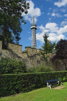 Free Petrin Tower Royalty Free Stock Images - 10241649