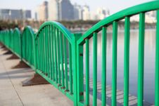 Free Green Baluster Stock Image - 10242471