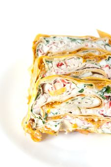Free Rolls In Lavash Stock Photography - 10244872