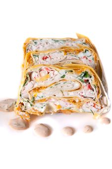Free Rolls In Lavash Stock Photo - 10244930