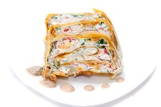Free Rolls In Lavash Stock Photos - 10244953