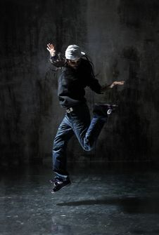 Free The Dancer Stock Photography - 10245262