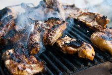Free Chicken Grill Stock Images - 10245654