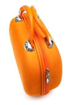 Free Orange Large Handbag Stock Photo - 10245780