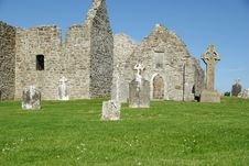 Free Clonmacnoise, Ireland Royalty Free Stock Photos - 10245918