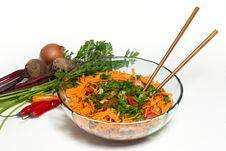 Free Closeup On A Fresh Salad Bowl. Royalty Free Stock Image - 10246386