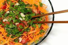 Free Closeup On A Fresh Salad Bowl. Royalty Free Stock Photography - 10246427