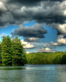 Free Lake In Summer Royalty Free Stock Image - 10246456