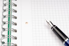 Free Notebook And Pencil Stock Image - 10246691