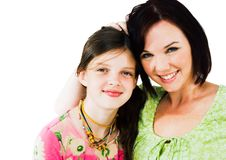 Free Smiling Girl And Woman Stock Photography - 10246752
