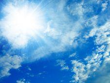 Sunlight Sky Stock Photo
