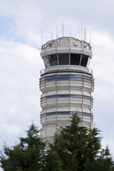 Free Air Traffic Control Tower Royalty Free Stock Photography - 10248517