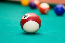 Free Billiard Balls Stock Photo - 10248600