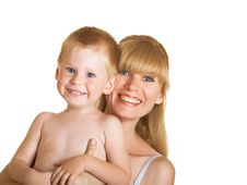 Free Mum With Son Royalty Free Stock Images - 10248649
