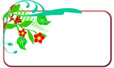 Free Floral Border Royalty Free Stock Photo - 10249835