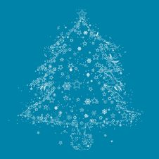 Free Abstract Christmas Tree Pattern Stock Image - 10249851