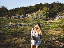 Free Adult, Adventure, Backpack, Backpacker Stock Photos - 102463763