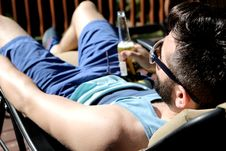 Free Cool Dude At Rest Stock Photos - 102464303