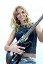 Free Female Rock Star, Female Rock Star Stock Photo - 10250130