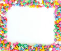 Free Frame From Colorful Stones. Royalty Free Stock Images - 10252869