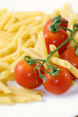 Free Red Tomato And Pennette Rigate Stock Images - 10253344
