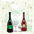 Free Red And White Wine Stock Photo - 10259530