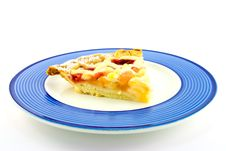 Free Slice Of Apple And Strawberry Pie Stock Photography - 10250682