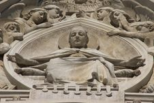 Sculpture On Di Santa Maria Del Fiore, Florence Royalty Free Stock Image